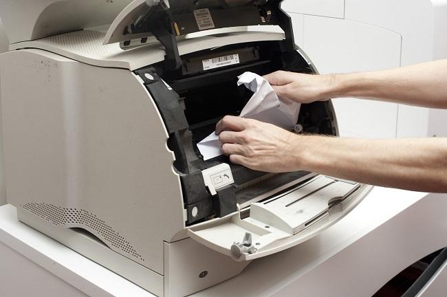 Máy photo kẹt nhiều giấy cùng một lúc, không ra bản in