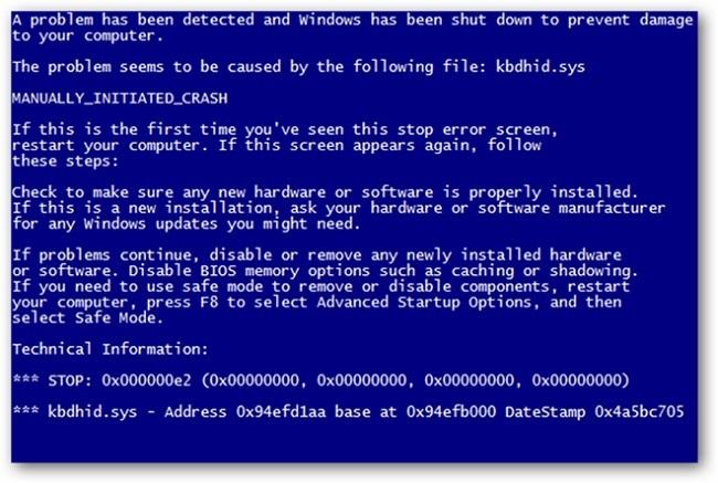 Windows gặp lỗi màn hình xanh hay liên tục bị treo