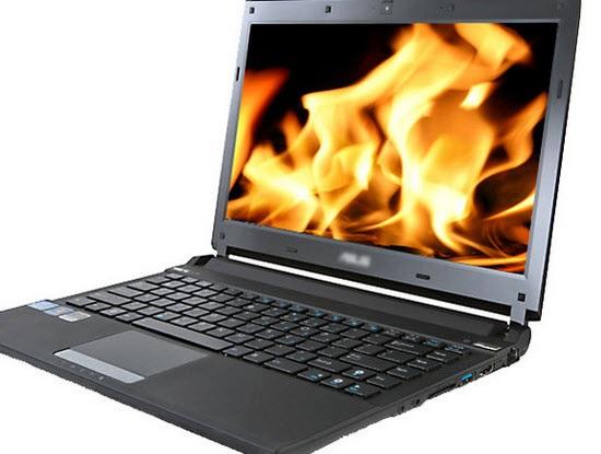 Máy tính bị quá nóng