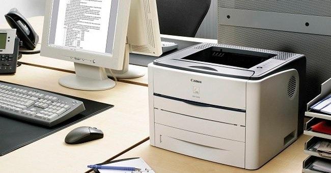 Kết nối laptop với máy in canon 2900