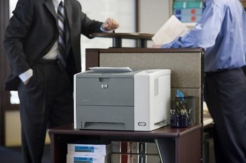 Máy in báo ready to print nhưng không in được
