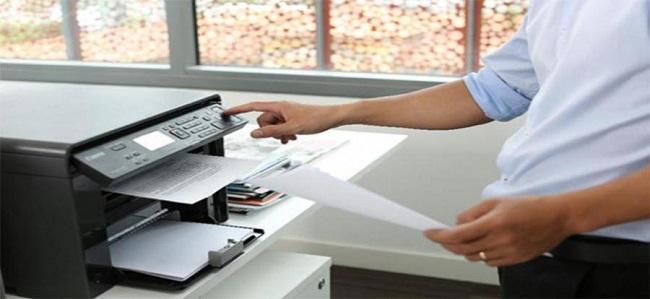 Thử kiểm tra lại cáp kết nối của máy in