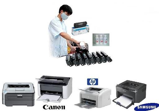 Thay mực in đổ mực máy in lý nam đế tất cả các dòng máy.