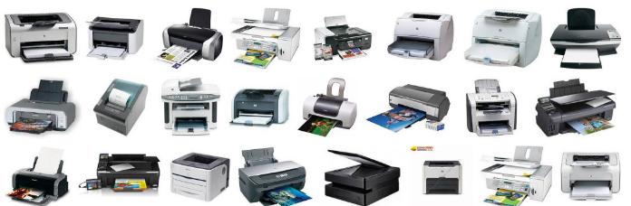 Một vài loại máy in