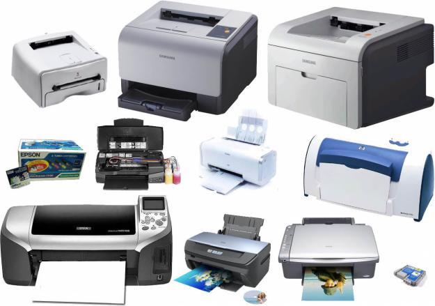 Mỗi loại máy có loại mực tương thích khác nhau.