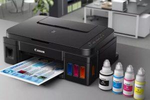 Đổ mực các loại cho máy in.