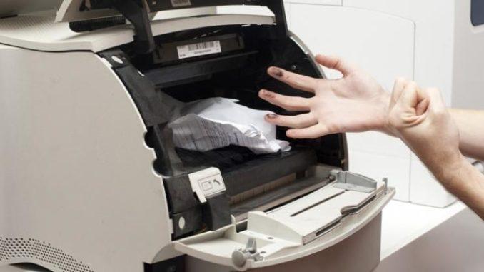 Nhiều lý do khiến máy in của bạn bị kẹt giấy
